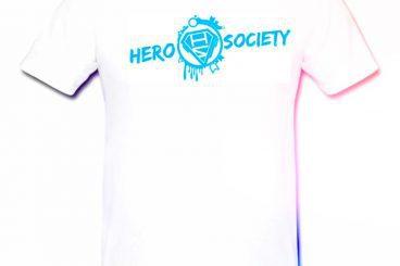 HERO SOCIETY® T-Shirt weiß